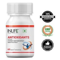 Antioxidants supplements for face