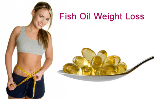 Fish oil liquid filled capsules for weight loss