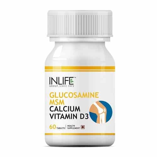 Buy Glucosamine Msm Calcium Vd3 Tablets In India Inlife
