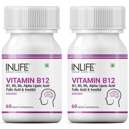 Vitamin B12 Supplement 2 pack