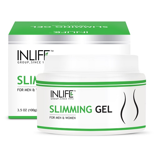 slimming gel with bottle