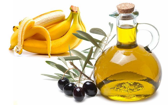 Banana and Olive Oil Pack