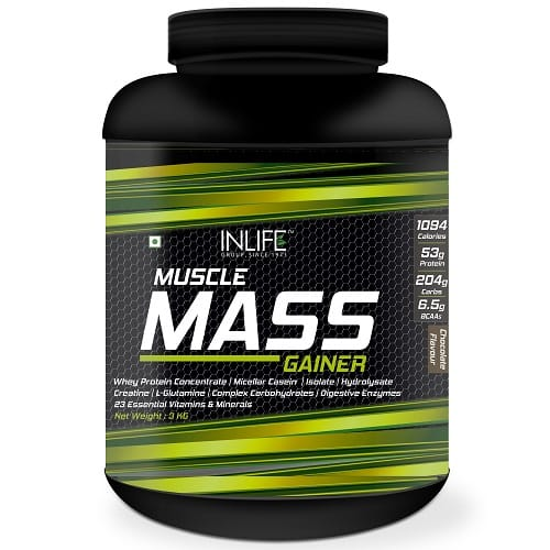 Mass Gainer front side