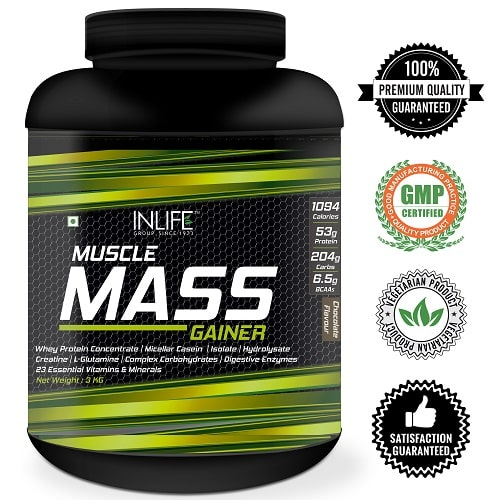 Mass Gainer with Logos