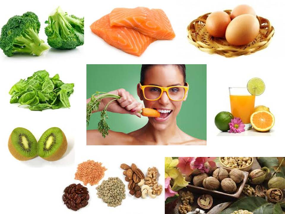 What Foods Are Good For Eyesight Vision