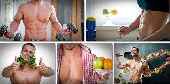 Muscle Building Foods and Exercises