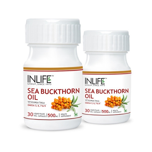Sea Buckthorn Oil Capsules 2 Pack