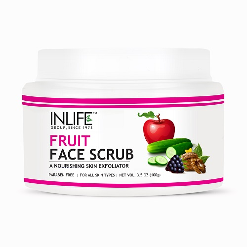 fruite face scrub