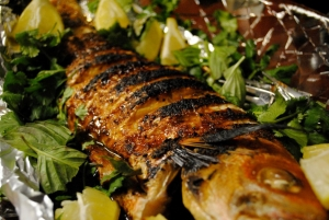 baked fishes
