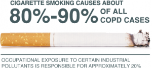 Relation between smoking and COPD