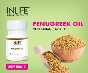 Inlife Fenugreek Oil Vegetarian Capsules