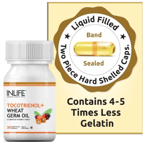 inlife tocotrienol wheat germ oil supplement capsules
