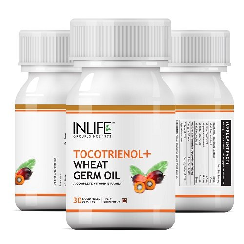 Buy Tocotrienol Wheat Germ Oil Capsules In India Online