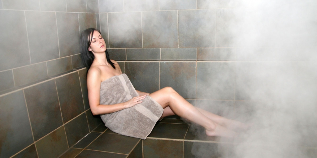 Steam bath skin physical and mental fitness - How to make steam room in your bathroom ...