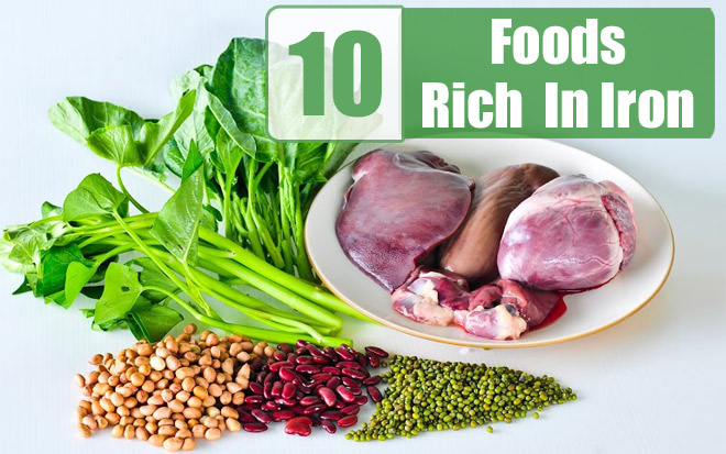 Natural Foods For Iron Deficiency