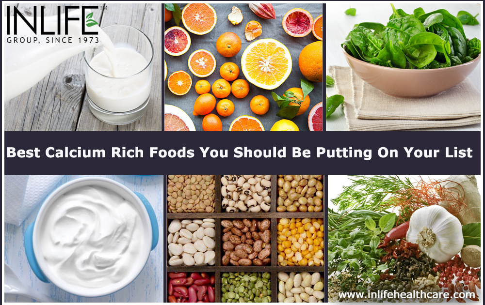 Best Calcium Rich Foods You Should Be Putting On Your List