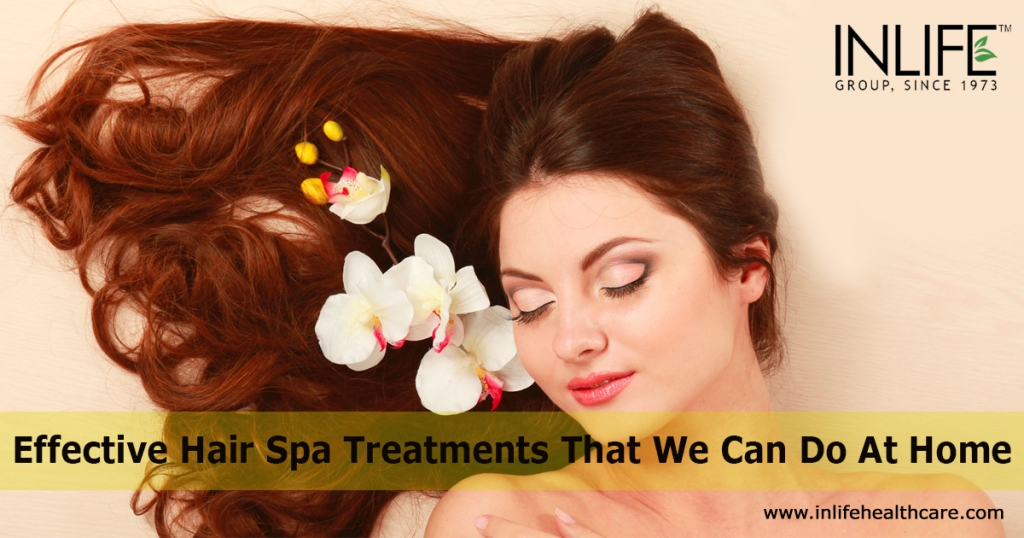 Effective Hair Spa Treatments That We Can Do At Home