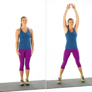 Jumping Jacks - Aerobic Workouts for Weight Loss