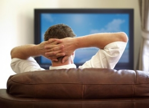 man-watching-tv- bad habit