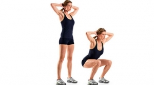 Squats - Aerobic Workouts for Weight Loss