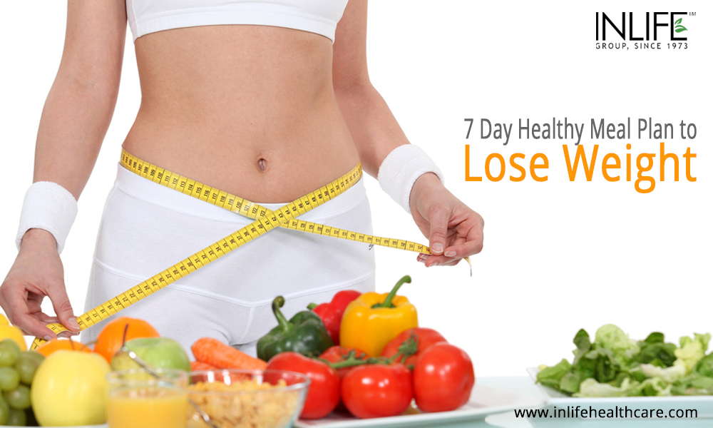 7 Day Healthy Meal Plan to Lose Weight