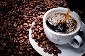 Fresh cup of coffee for Chest Congestion Relief