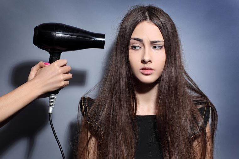 Do Not Use A Blow Dryer
