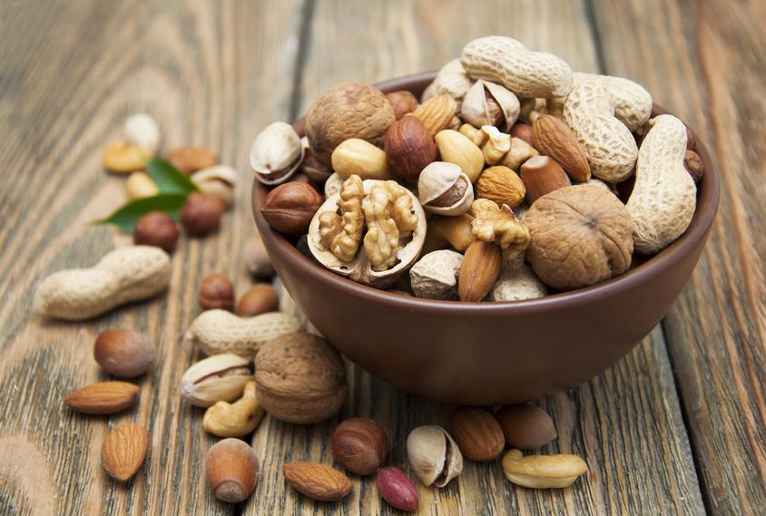 Nuts for snacking