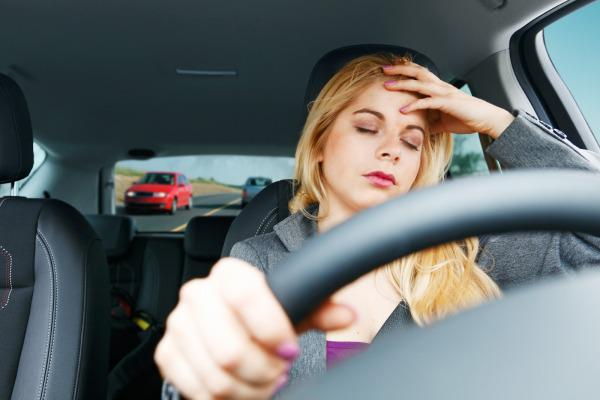Sleepiness Can Cause Accidents