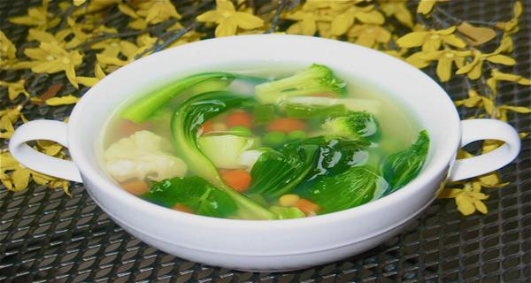 Layer the base of your soup