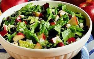 Apples and spinach