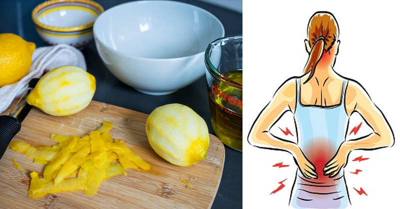 Peeled Lemon and Lemon Peels Can Save You From Chronic Joint Pain