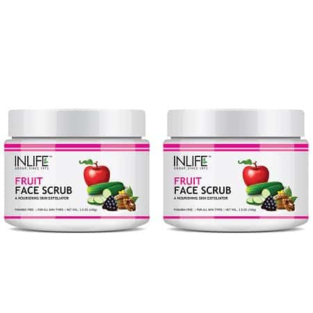 Fruit-Face-Scrub 2 pack