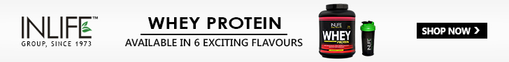 Buy INLIFE Whey protein