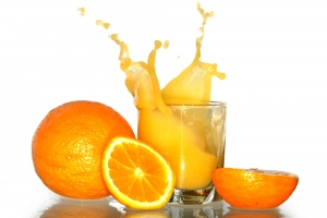 Orange Juice That Is Fortified