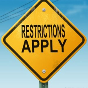 Need to Follow Restrictions