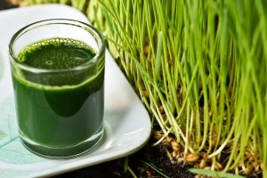Wheatgrass and breast cancer