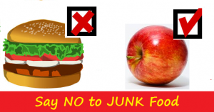 Controlling your food habits or food addiction and lifestyle
