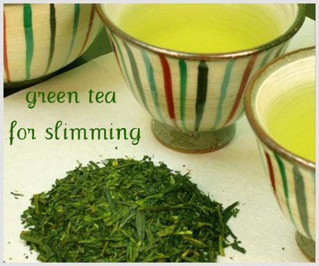 Green tea increases your total endurance level
