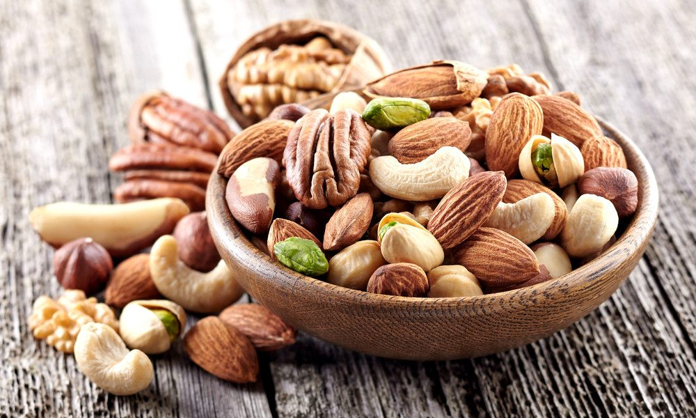 Nuts are nutritious