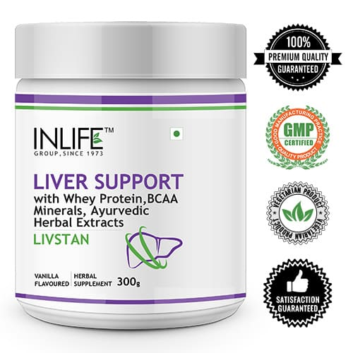 Liver Support with logos