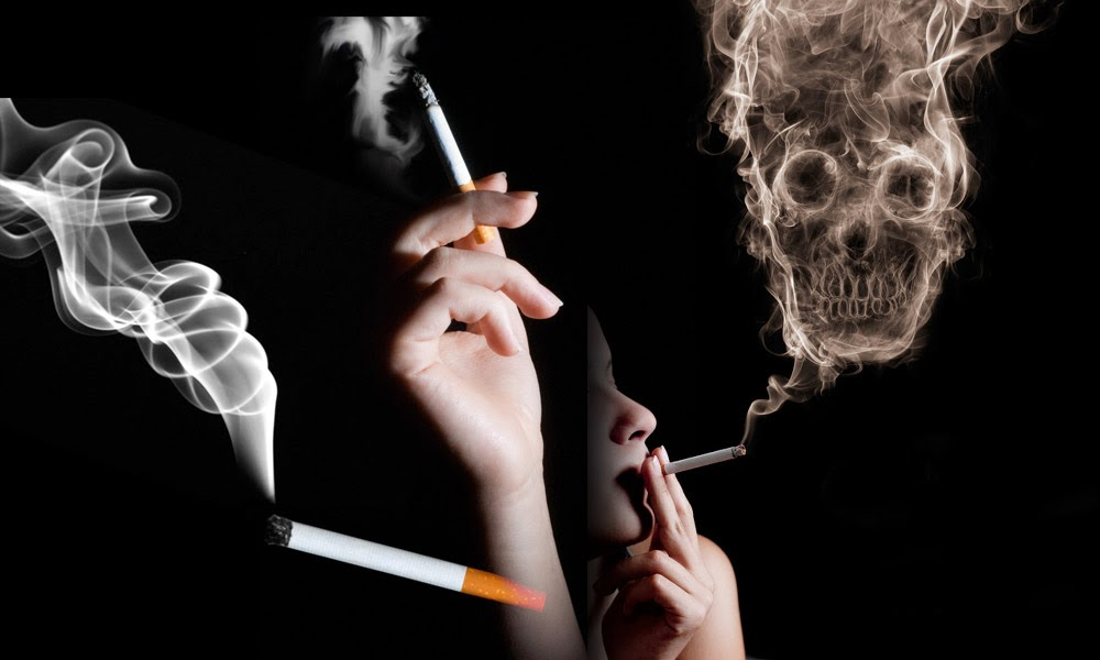 How does smoking affect your cardiac health