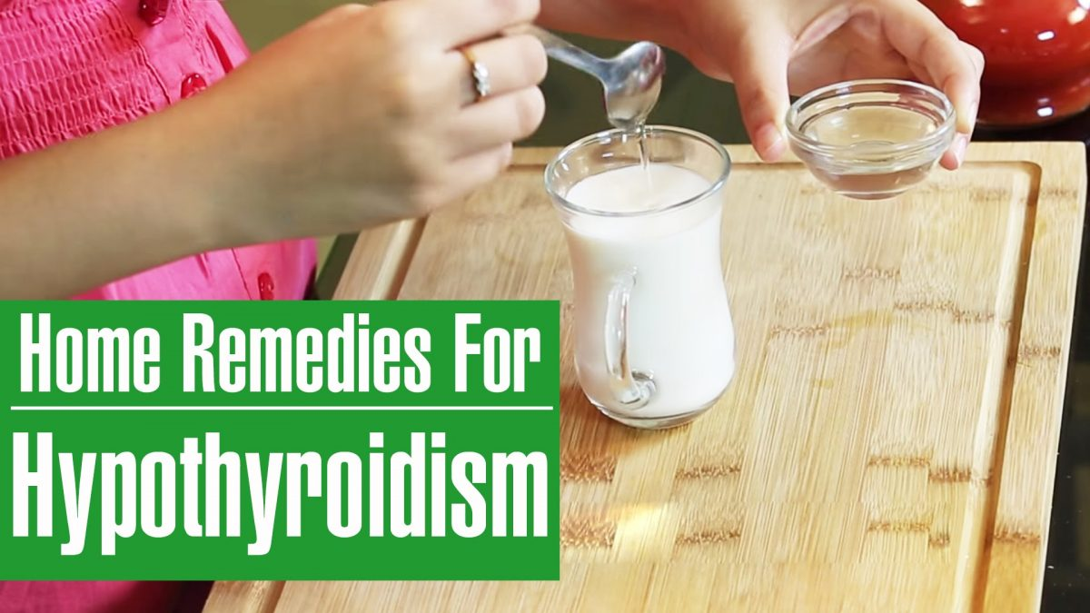 Hypothyroid And The Natural Home Remedies That Work
