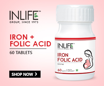 Iron and folic acid