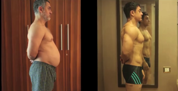Decoding aamir khan's body tramsformation secrets in the movie Dangal