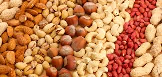 Nuts rich in Vitamins