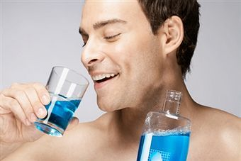Rinse with mouthwash