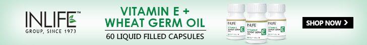 Vitamin E and wheat germ oil