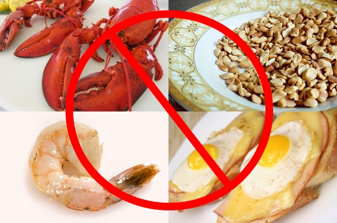 Avoid Allergic Foods