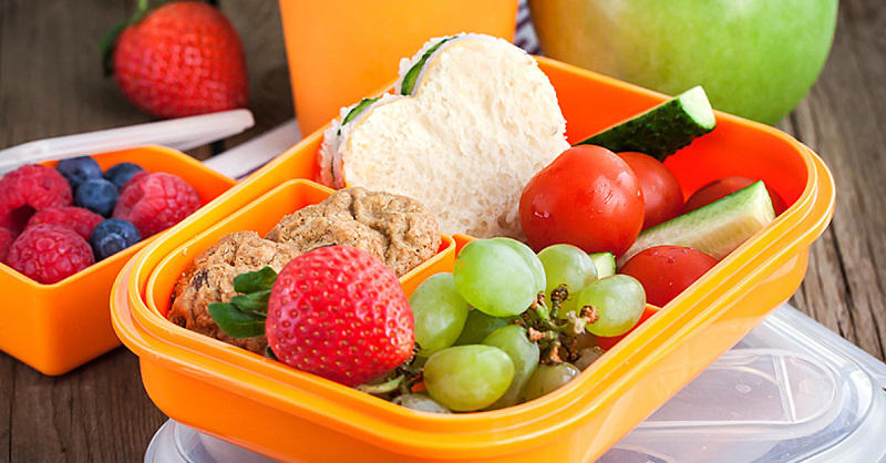 Eat well including light, healthy lunches